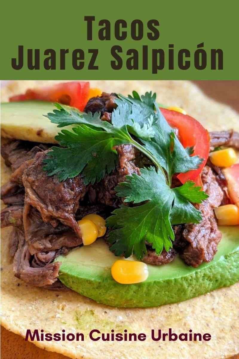 tacos Juarez Salpicon
