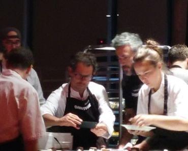 L'architecture des sens avec Pascal Barbot, Martin Juneau, Patrice Demers: Omnivore World Tour, Montréal 2015