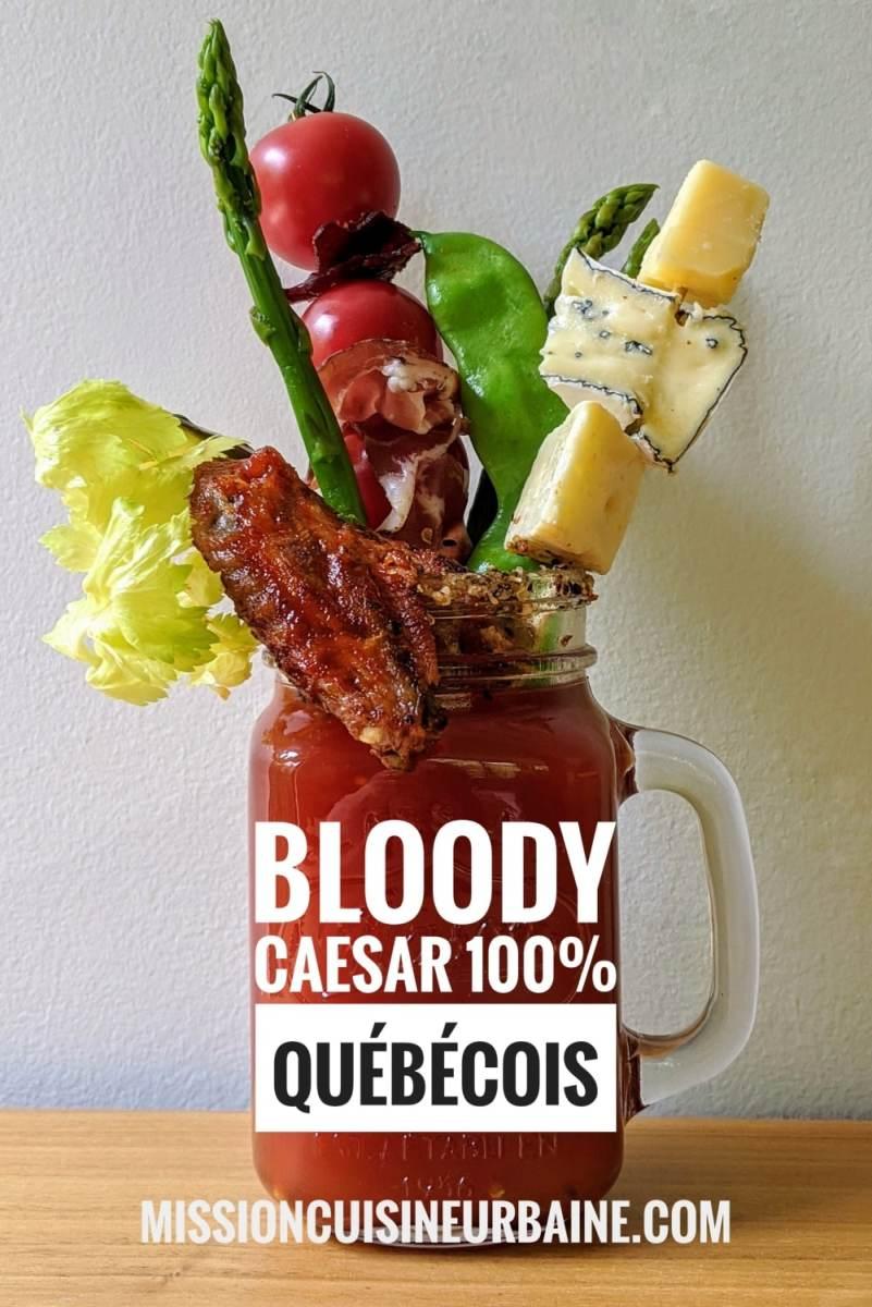 Bloody Caesar Mission Cuisine Urbaine