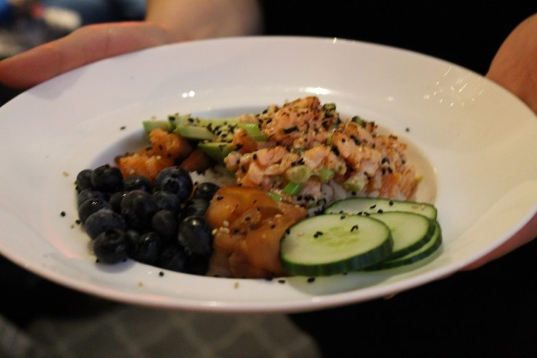 Foodcamp 2017 - Geneviève Everell poke bowl 1