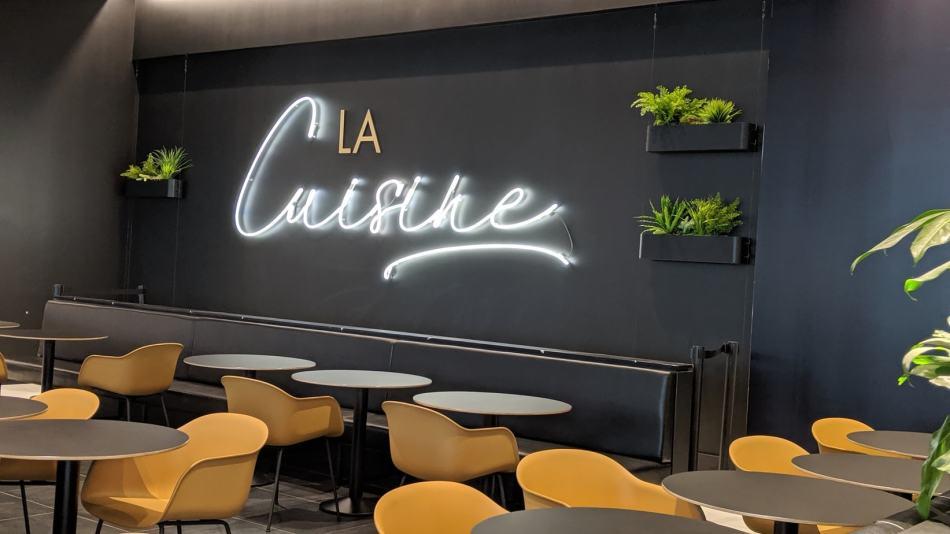 Un concept de restaurants dans un centre commercial. Le Pastaga Boutique