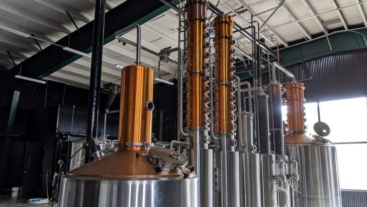 L'équipement ultra-moderne de la Distillerie Menaud