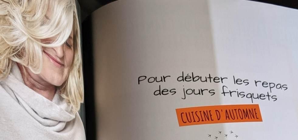 Anick Lamothe son livre de cuisine