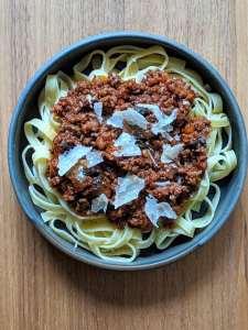 Sauce bolognaise Mission Cuisine Urbaine