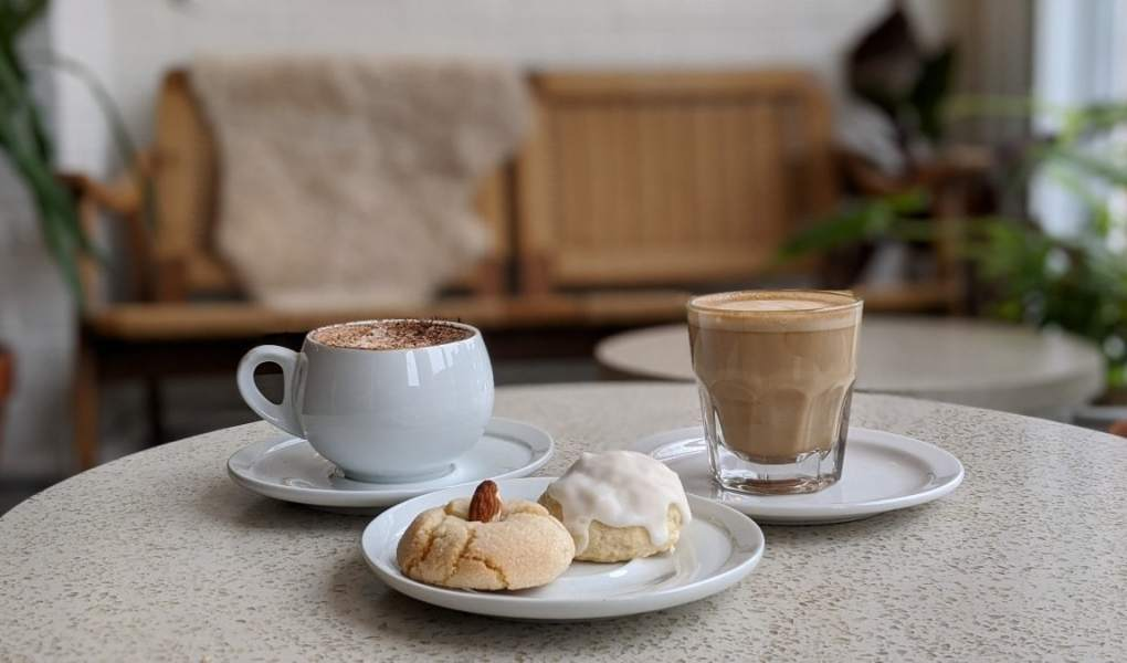 Les cafés au Parma café Jean-Talon