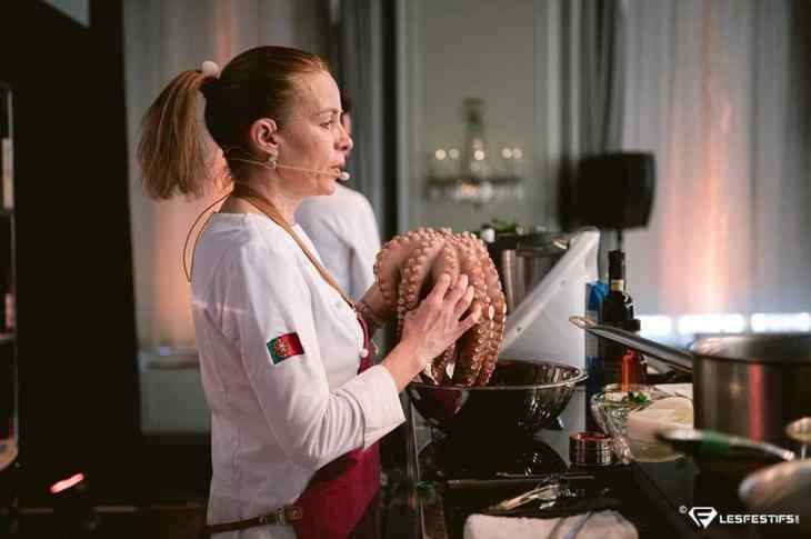 Une pieuvre à cuisiner selon Helena Loureiro