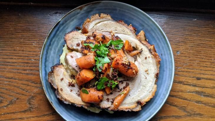 Porchetta-Hoogan-Beaufort Gastronomie à la maison Covid 19