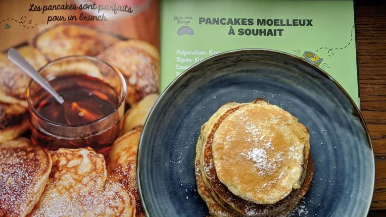 Cuisine avec Ines autour du Monde Livre de recette Pancakes