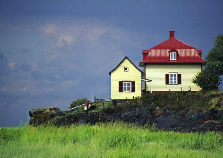 Maison typique de l'Isle-aux-grues