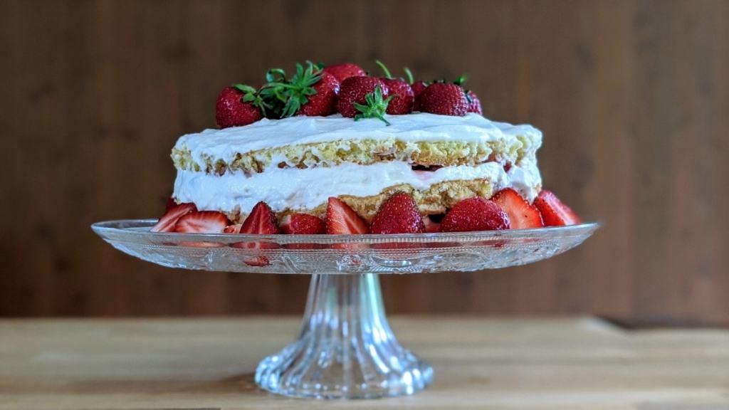 Shortcake aux fraises Mission Cuisine Urbaine version améliorée