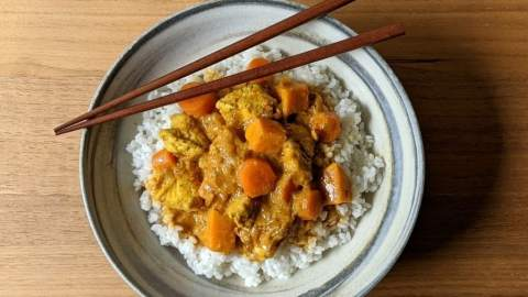 curry coréen
