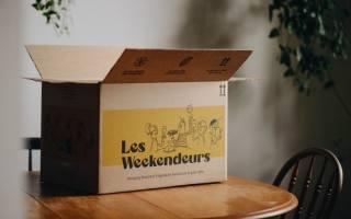 Boîte gourmande prête à cuisiner Les Weekendeurs