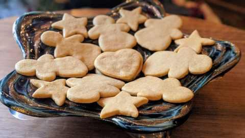 Biscuits en pain d'épice