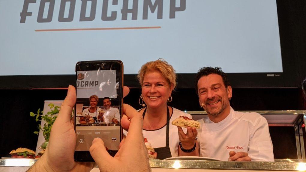 Foodcamp 2020 Mélanie Marchand et Pasquale Vari