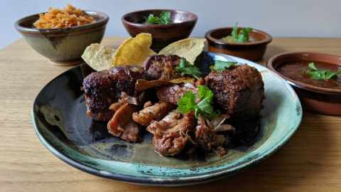 Tacos Juarez Salpicón (Boeuf braisé)