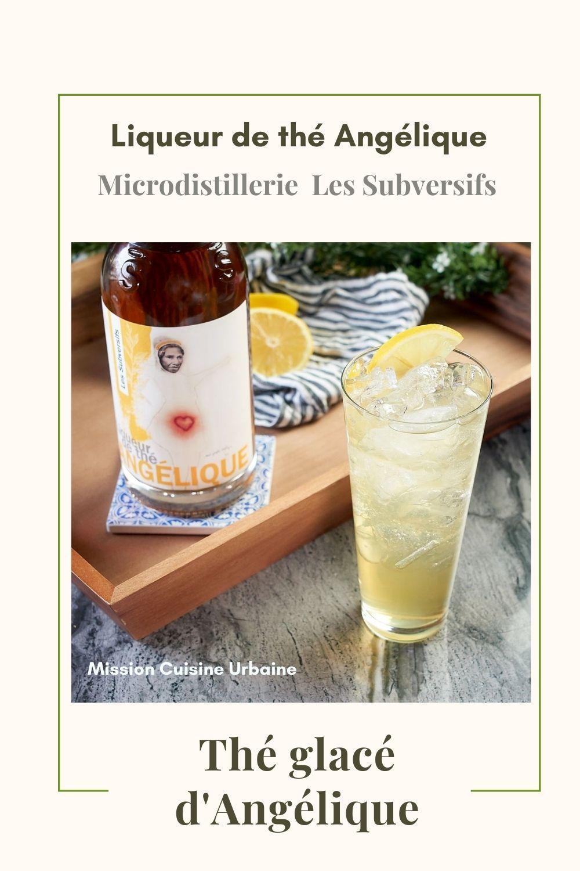 thé glacé Angélique