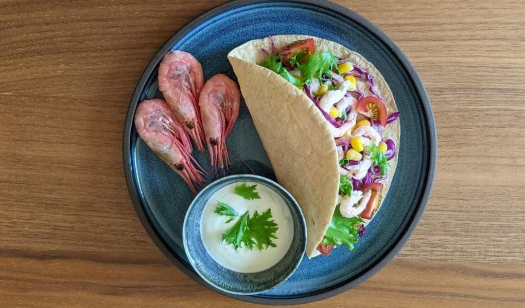 tacos crevettes