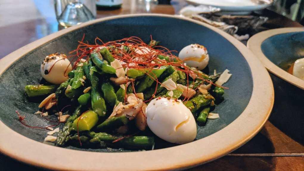 salade asperges Menu du moment Torii Ikzakaya