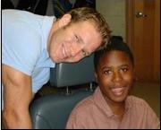 Jason Marshall and Petey