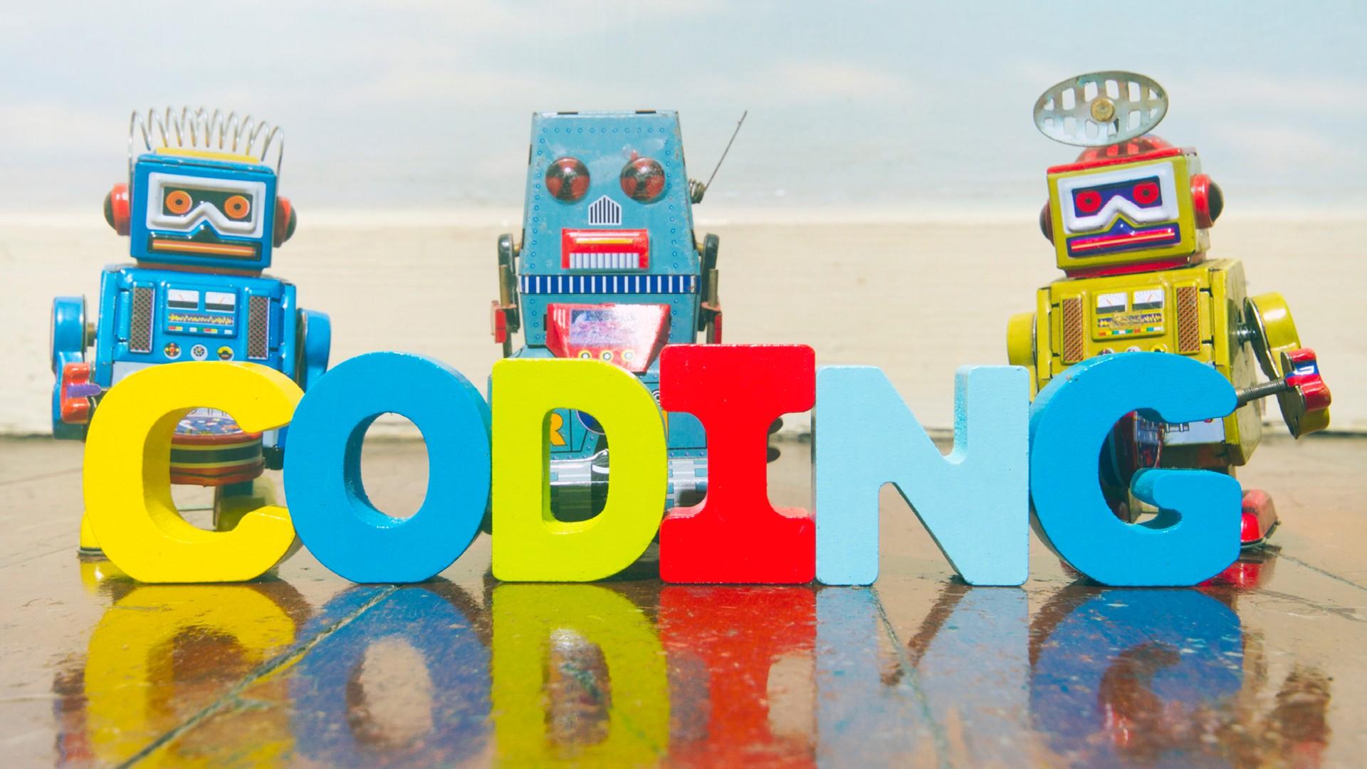 Logo coding con robot