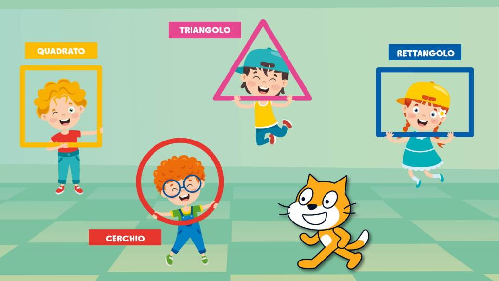 Bambini e poligoni con Scratch