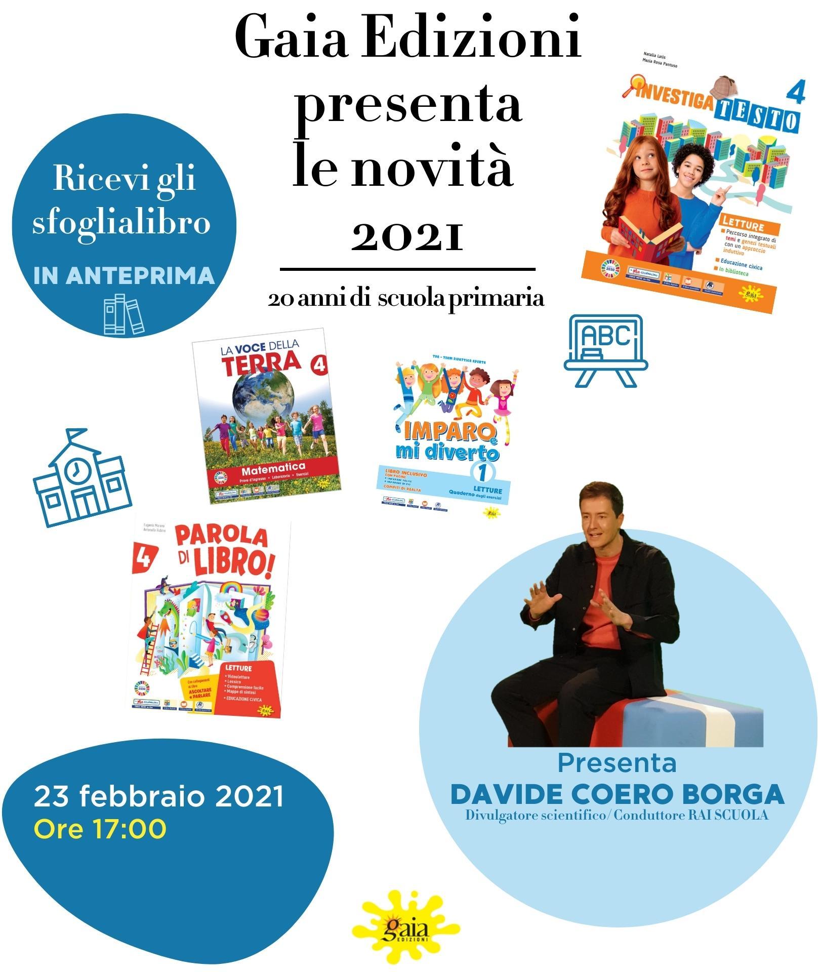 evento presentazione novità adozionali Gaia Edizioni