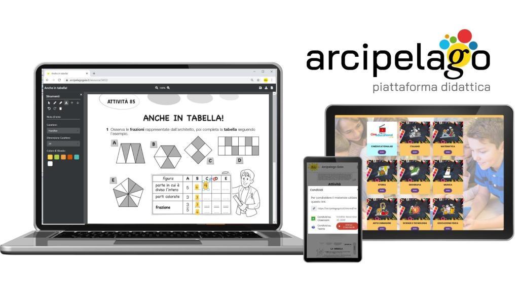 Arcipelago Gaia la piattaforma didattica