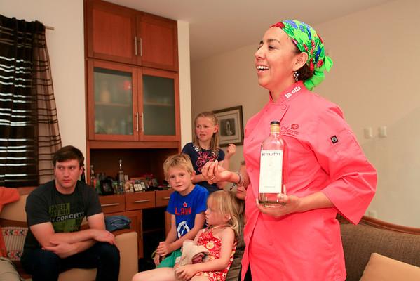 Pilar Cabrera, La Olla Restaurant, Casa de los Sabores Cooking School