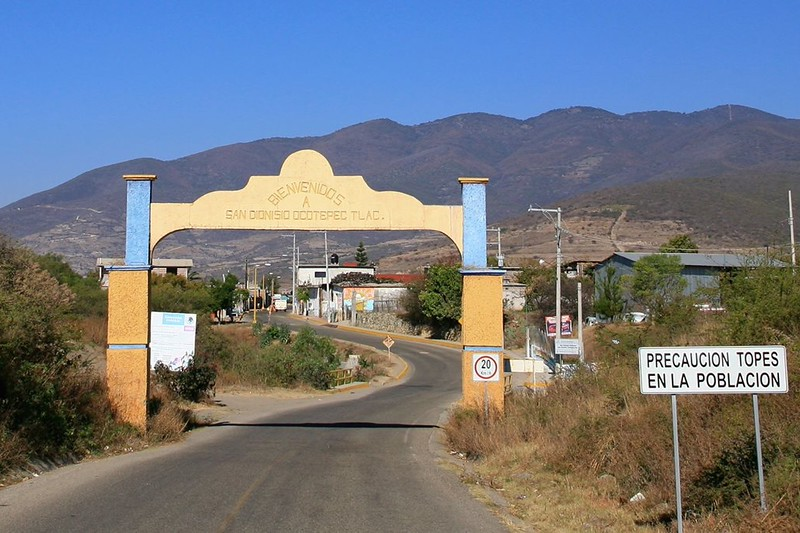 San Dionesio, Oaxaca, Mexico, Topes, Speed Bumps