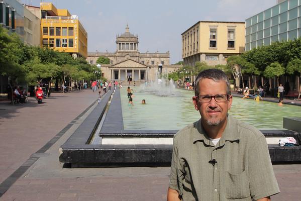 Dave Miller, Mexico, Guadalajara, Plaza Tapatia