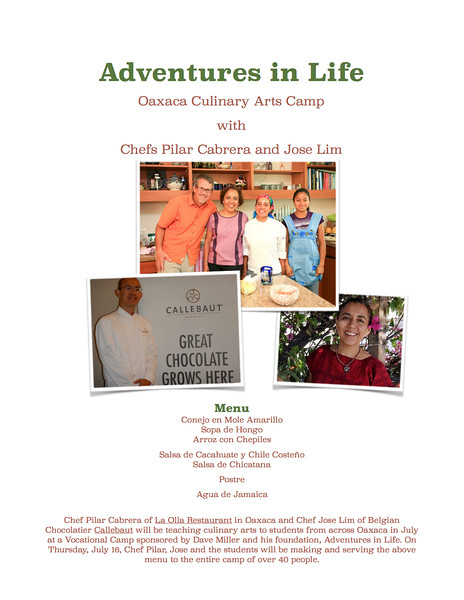 Adventures in Life, Oaxaca, Dave Millers Mexico, Pilar Cabrera, Dave Miller