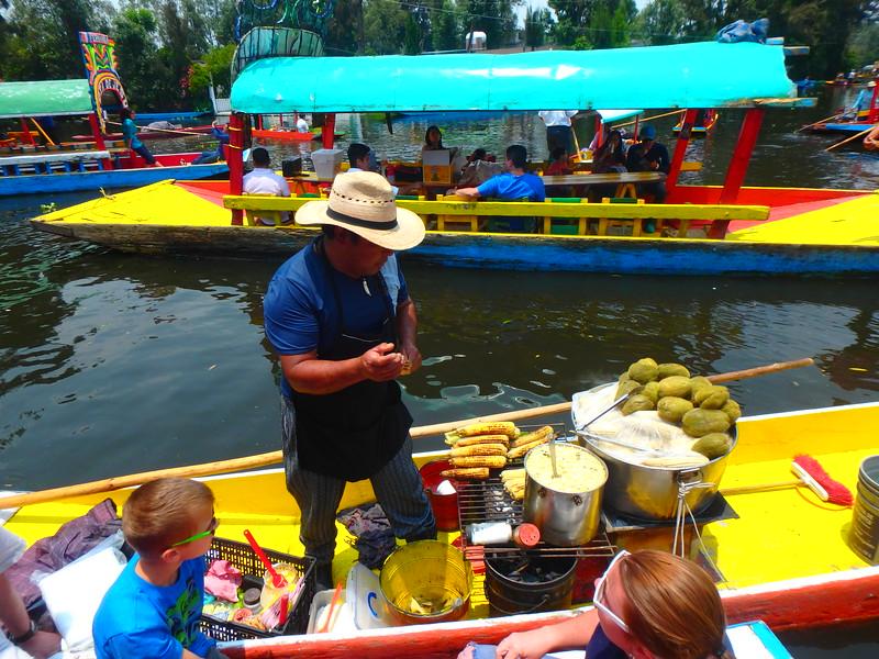 Xochimilco, Dave Millers Mexico, Mexico City