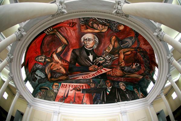 Jose Clemente Orozco, Guadalajara, Murals, Dave Miller's Mexico