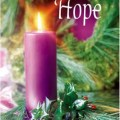 Advent candle of hope