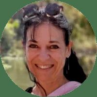 Catherine -présidente de l'association