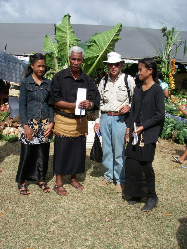 90. Soakai and his daughters showed us many interesting exhibits at the Agricultural show.