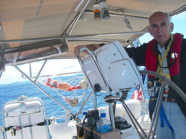 62. Jeff at the helm