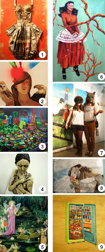Highlights From SF Open Studios Opening Night