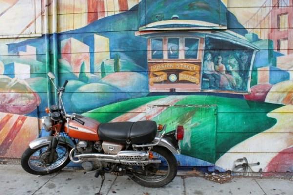 San Francisco rides, old and new.