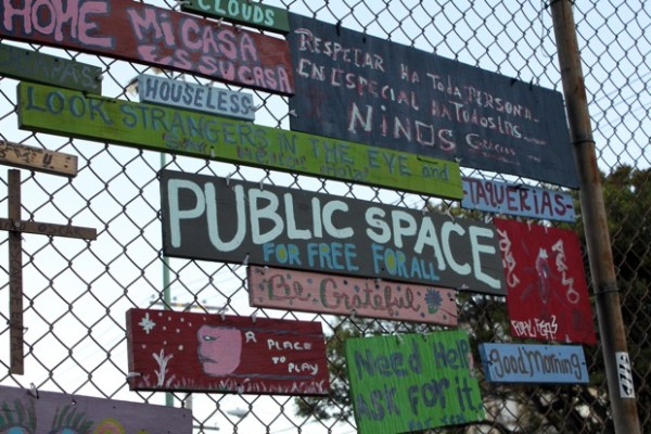 Need a little inspiration? Just look at these park signs.