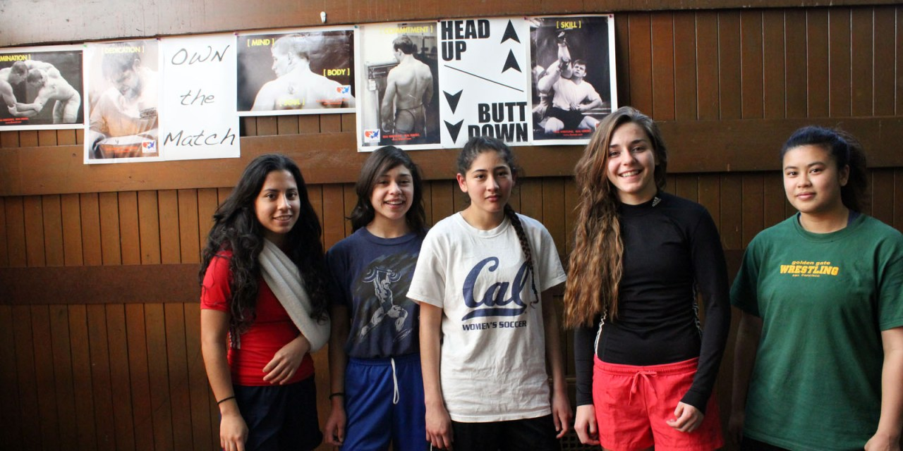 Girls Who Wrestle To Win