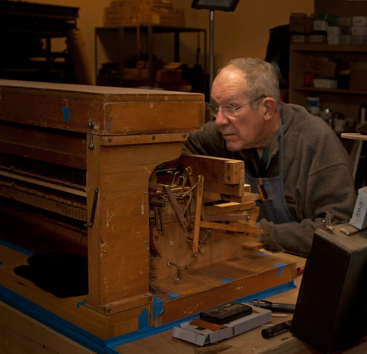 Jim Tyler Rescues Reed Organs - MissionLocal