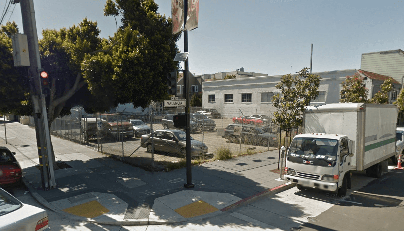 A development on Valencia Street is finding some opposition.