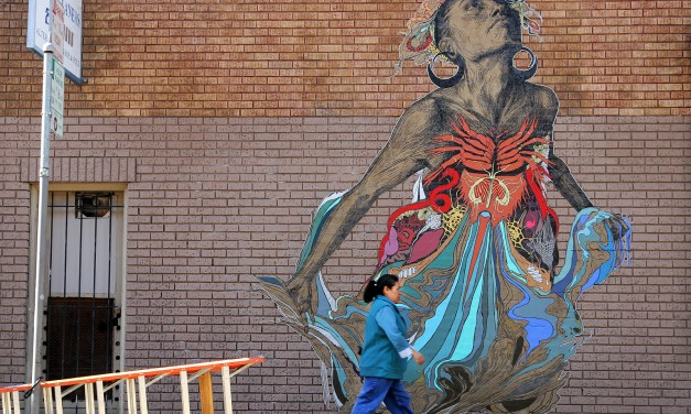 Will Pedestrians Swoon Over Art on a Wall?