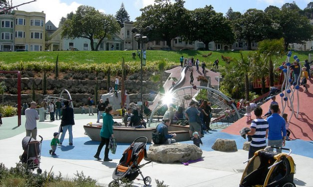 Parents Want Dolores Park Playground Fenced