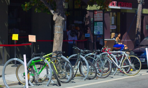 The Mission Takes the Lead in Bike 'Corrals'