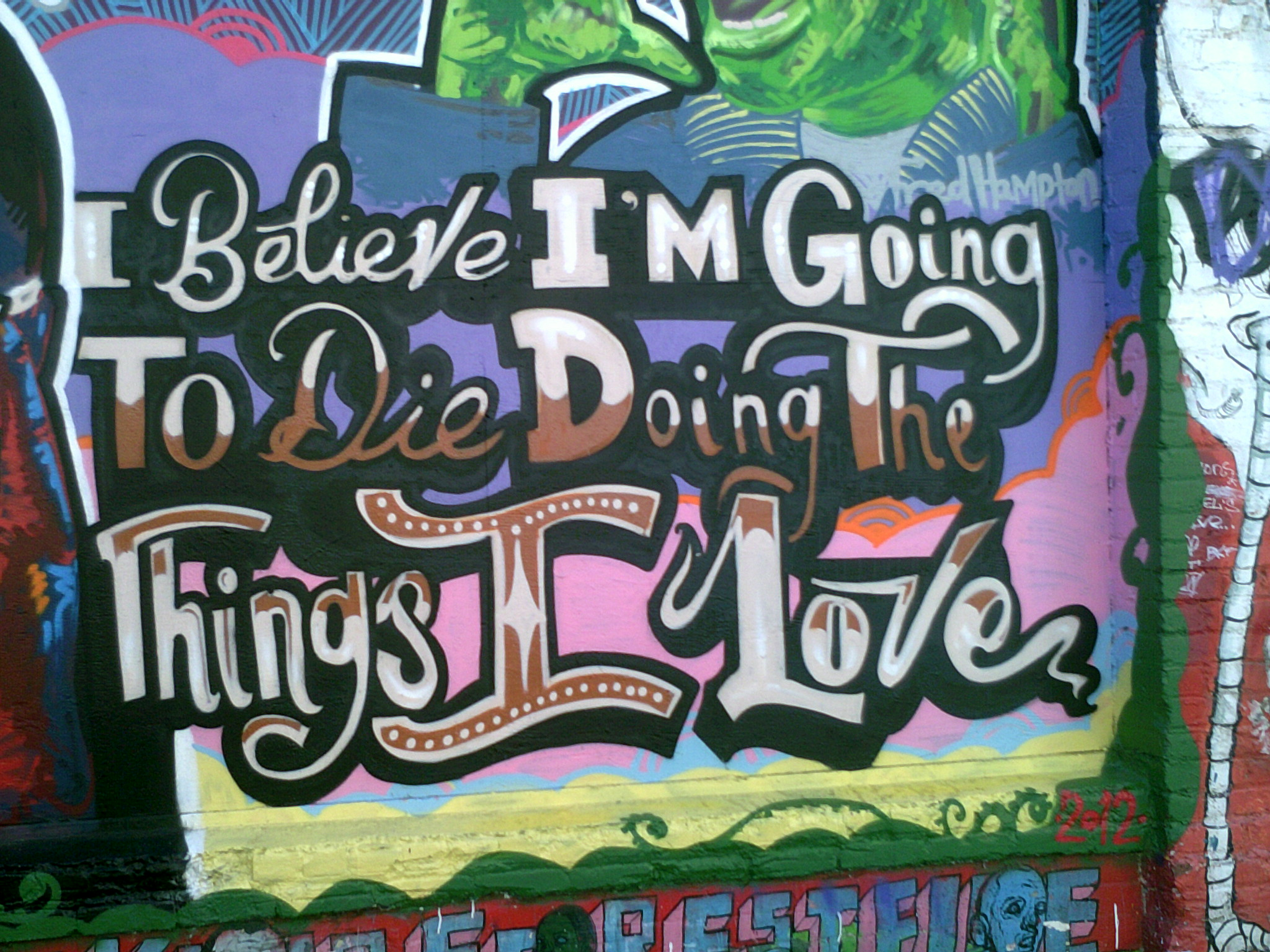 """Taken on Clarion Alley for Mission Local's """"Reporting in the Mission"""" class"""