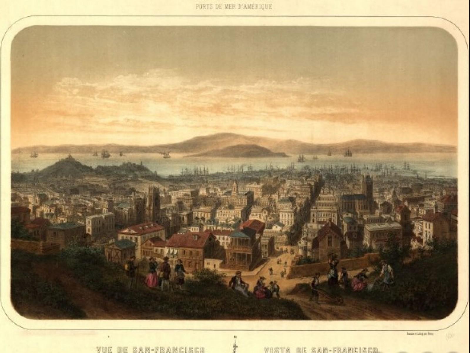 San Francisco circa 1860