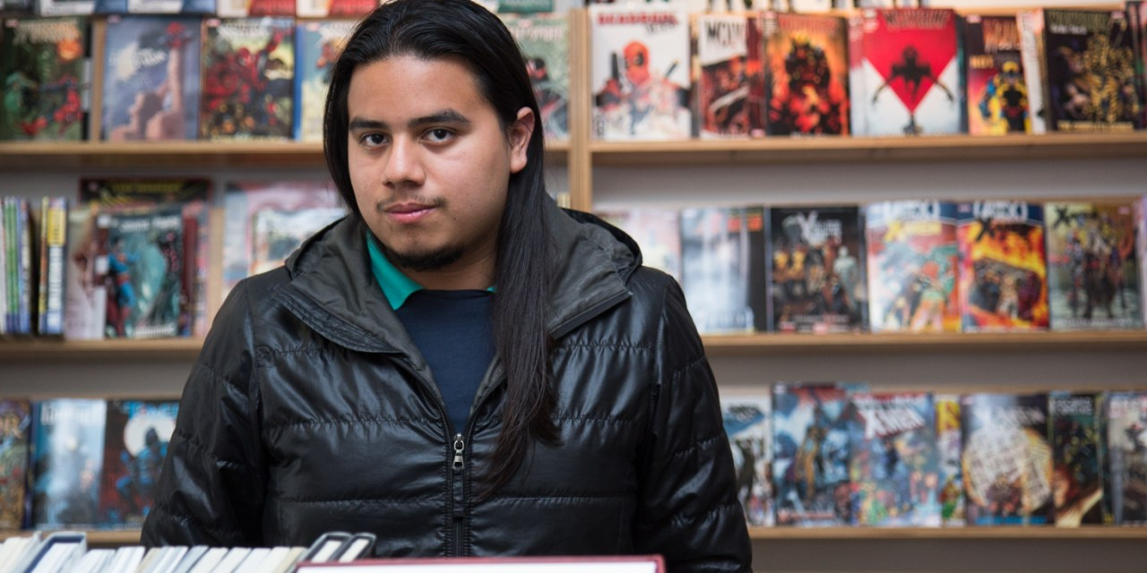 Mission Cartoonists Share Work at Latino Comics Expo
