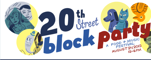 Courtesy of the 20th Street Block Party's website.